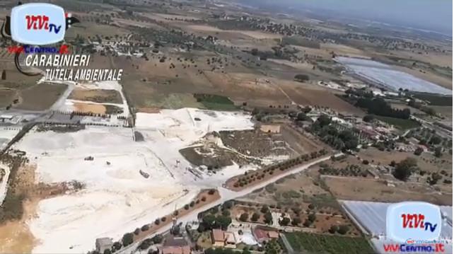 NOE Carabinieri, sequestrata maxi cava contenente rifiuti tossico nocivi