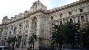 Palazzo Ministero della Pubblica Istruzione a vialeTrastevere - ROMA