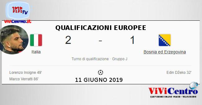 QUALIFICAZIONI EUROPEE - 11 GIUGNO 2019 - Insigne