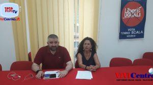 Tonino Scala, Conferenza stampa di LeU 280619