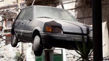 blitz centro antico castellammare di stabia rifiuti ingombrati auto abbandonata