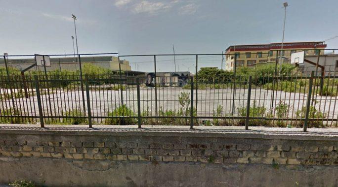 campo basket cmi centro sportivo Giancarlo Siani castellammare di stabia