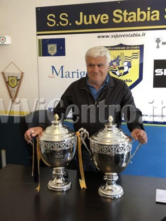 Juve Stabia Franco Manniello Lascia Coppa