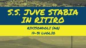 Rivisondoli Juve Stabia ritiro