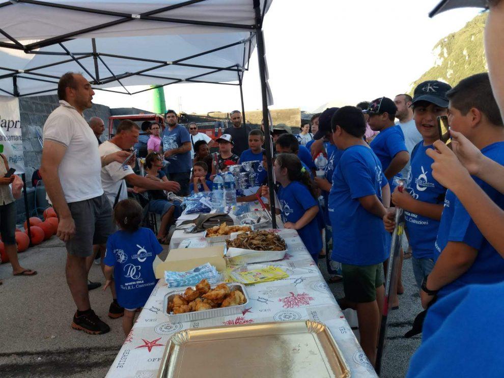 """Capri- Nona Edizione dell'evento """"Piccoli ma grandi pescatori"""""""