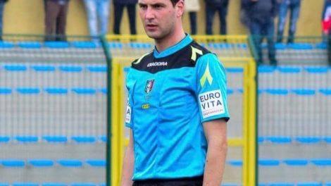 Antonio Liotta arbitro CAI Castellammare di Stabia