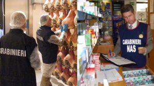 Carabinieri NAS, controlli nel settore alimentare e sanitario - COMBI