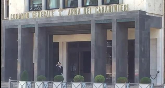 Comando Generale Arma Carabinieri, ROMA (foto da youtube carabinieri)