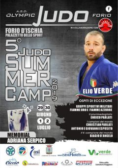 Olympic Judo Forio, tutto pronto per il Summer Camp