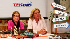 Giovanna Massafra presidente associazione Incrocio di idee, a desta la consigliera Teresa Sansone