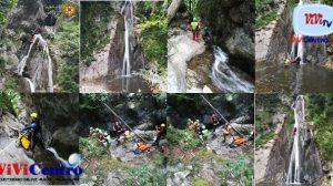 Infortunio mortale alle cascate di Cittiglio (VA)