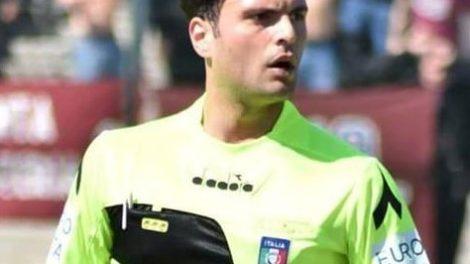 Raffaele Gallo arbitro Can D Castellammare di Stabia
