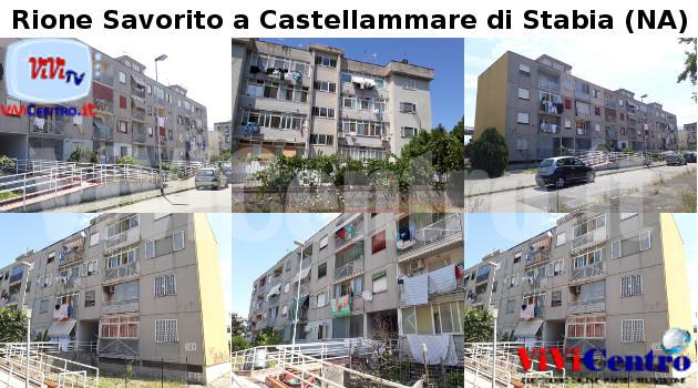 Rione Savorito a Castellammare di Stabia