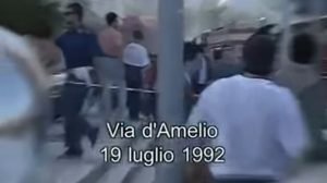 Strage di via D'Amelio (frame da video)