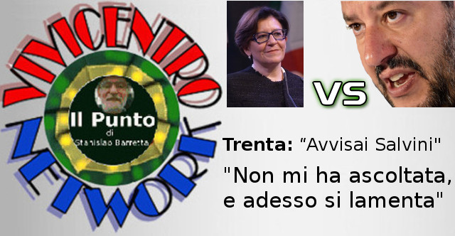 Trenta, avvisai Salvini, non mi ha ascoltata ed ora si lamenta