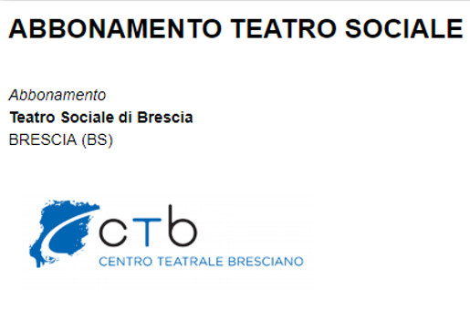 abbonamento CTB