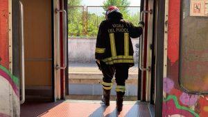 vigile del fuoco circumvesuviana foto free facebook