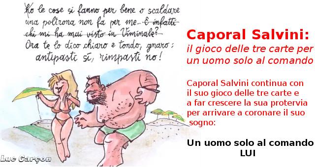 Caporal Salvini Un uomo solo al comando
