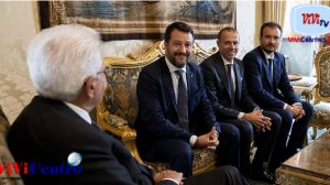Consultazioni del 280819 con la delegazione del Gruppo Paramentare Lega Salvini Premier