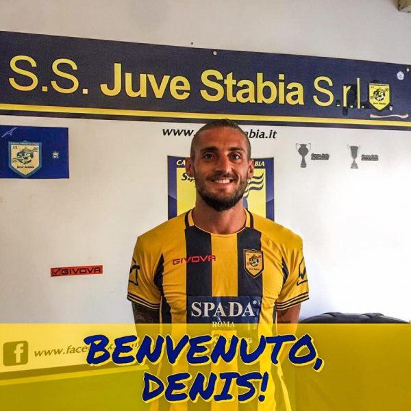 Denis Tonucci Juve Stabia Foto Facebook
