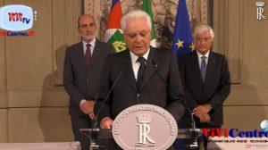 Dichiarazione del Presidente Mattarella al termine delle consultazioni del 220819