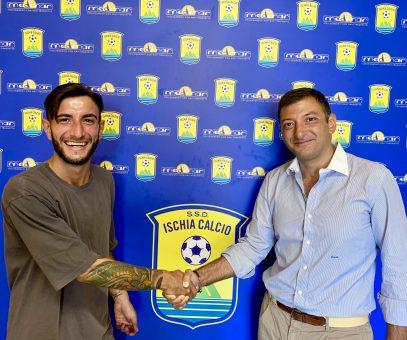 """Castagna: """"Voglio vincere il campionato con la maglia dell'Ischia"""""""
