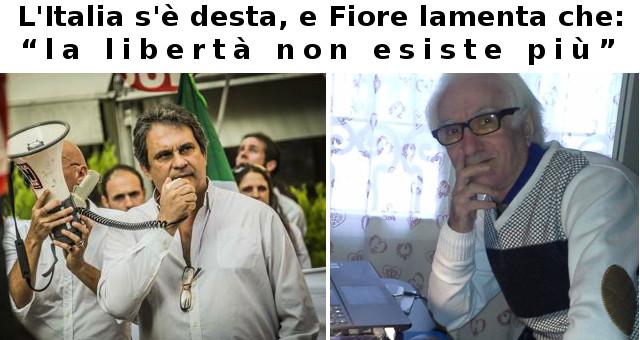 L'Italia s'è desta, e Fiore si lamenta