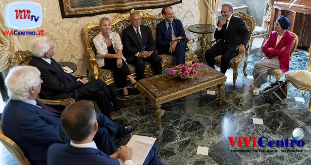 Le Consultazioni del 270819, il gruppo misto con il Presidente Mattarella