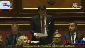 Replica di CONTE al Senato 200819, FINE DEL GOVERNO