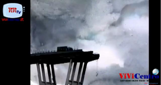 Ricordo ad un anno dal crollo del Ponte Morandi