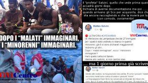 Salvini, dopo gli ammalati immaginari ora i minorenni immaginari