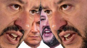 Scontro Giuseppe Conte e Salvini