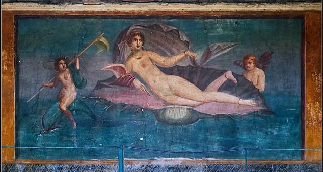 Venere in conchiglia Pompei (foto free)