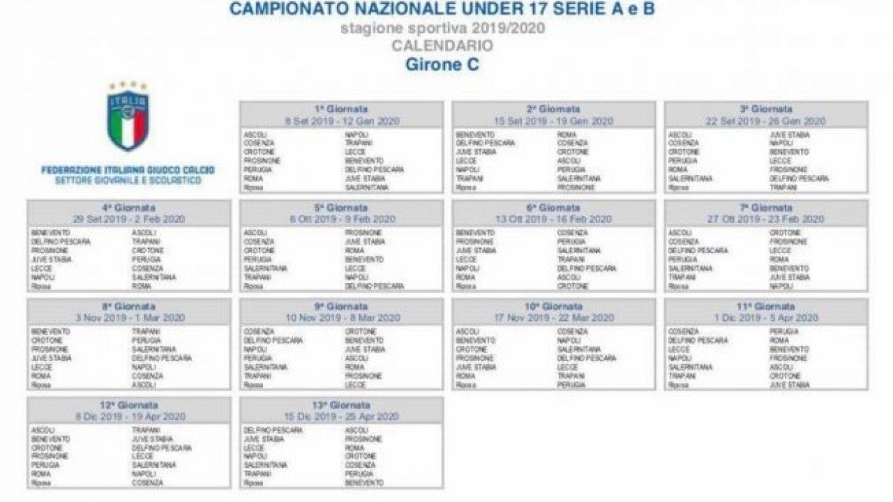 Calendario Pesca 2020.Juve Stabia Under 17 Pubblicato Il Calendario Del