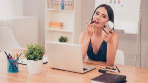 lavoro ufficio bellezza cosmetici