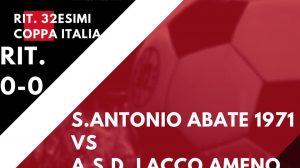 Il Lacco Ameno scrive la storia Avanti in Coppa, 0-0 a Sant'Antonio Abate