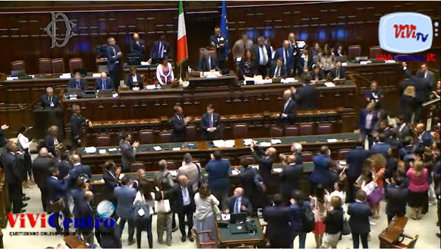 Camera 090919 Sì alla fiducia al nuovo governo Conte