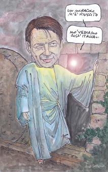 Conte, per un nuovo miracolo italiano (Luc Garcon)