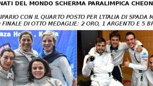 ITALIA Sciabola femminile e Spaga maschile, squadre