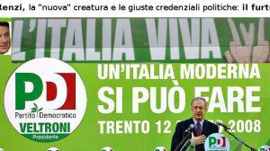 Renzi, la nuova creatura e le giuste credenziali politiche, il furto