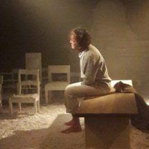 Sergio Mascherpa in scena a Padernello