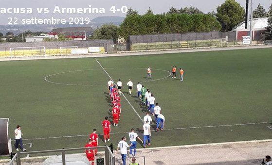 Siracusa vs Armerina 4-0