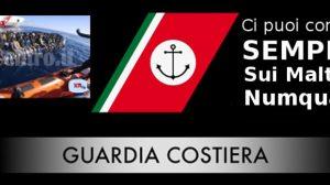 Soccorso GC italiana per conto di SAR Maltese che poi gira le spalle