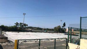 Procida, riprendono i lavori (finalmente) allo stadio Spinetti