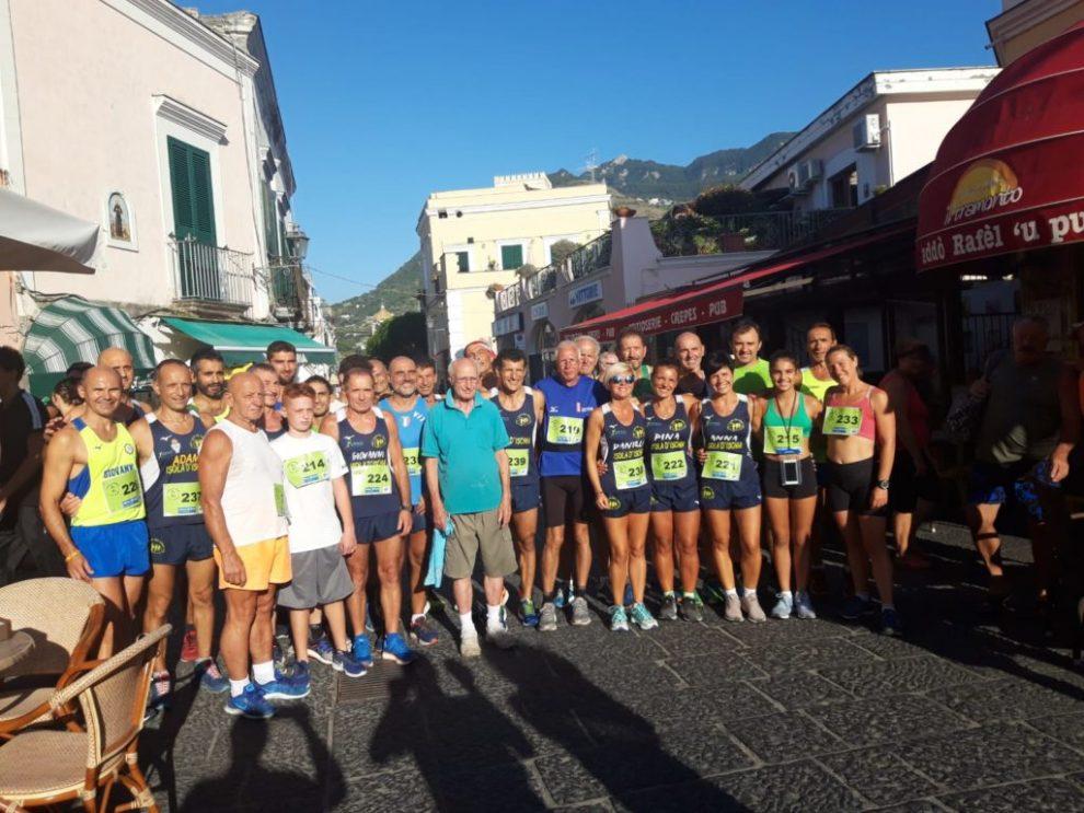 Forio- 33^ corsa a Santa Maria al Monte, un bel pomeriggio di sport