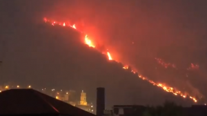 incendio sarno screen video facebook