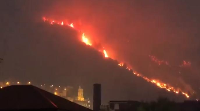 incendio sarno screen video facebook