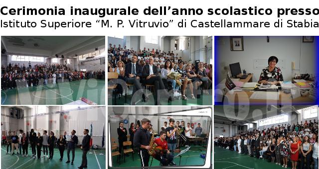Cerimonia inaugurale dell'anno scolastico presso Istituto Superiore Vitruvio COMBI.
