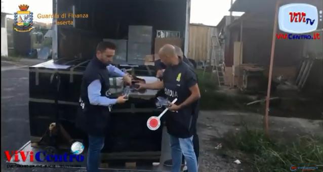 GdF Sequestrata fabbrica abusiva di fuochi d'artificio