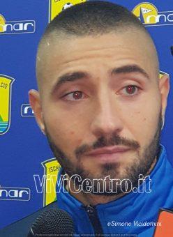 """Ischia- Iattarelli: """"Un gol che cercavo, lo dedico a mio padre"""""""